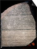 The Rosetta Stone, 196 Bc Prints