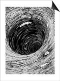 Poe, Descent, Maelstrom Posters av Harry Clarke