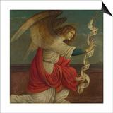 Archangel Gabriel (Panel from an Altarpiece: the Annunciatio), before 1511 Kunst af Gaudenzio Ferrari
