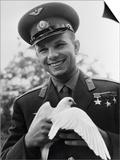 Yuri Gagarin, Russian Cosmonaut, C1963-C1964 Prints