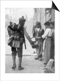 A Soldier from the British Indian Army, France, C1915 Reprodukcje