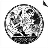 Achilles Bandaging the Wound of Patroclus, C1900 Prints