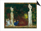 Beneath the Trees, 1897-1898 Prints by Édouard Vuillard