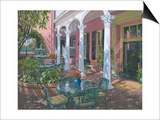 Meeting Street Inn Charleston Prints by Richard Harpum