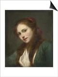 La Polonaise (A Polish Beaut) Poster by Jean-Baptiste Greuze