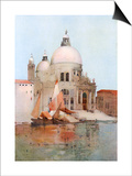 Venice, S Maria Salute Posters by Arthur Melville