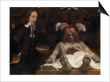 The Anatomy Lesson of Dr. Jan Deijman, 1656 Posters by  Rembrandt van Rijn