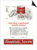 Campbells Soup Ad Prints