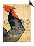 Cocorico Posters by Théophile Alexandre Steinlen