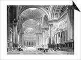 Paris, France - Eglise de La Madeleine Poster