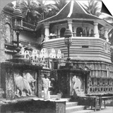 Dalada Maligawa, Palace of Buddha's Tooth, Kandy, Sri Lanka, 1902 Prints by  Underwood & Underwood