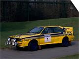 1985 Audi Quattro A2 Car Posters
