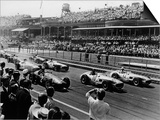 Start of the British Grand Prix, Aintree, Liverpool, 1955 Prints