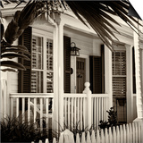 Key West Architecture - Heritage Structures in Old Town Key West - Florida Posters by Philippe Hugonnard