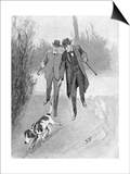 Holmes and Watson, Dog, C20 Prints by Sidney Paget