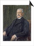 Portrait of Paul Von Hindenburg Posters by Max Liebermann