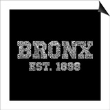 Bronx Word Art Print
