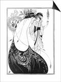 The Peacock Skirt Posters by Aubrey Beardsley