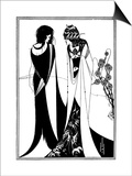 Play, Wilde, Beardsley Prints by Aubrey Beardsley
