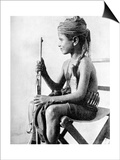 Boy with a Gun, Aden Protectorate, Arabia, 1936 Art