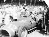 Alberto Ascari at the Wheel of a 4.5 Litre Ferrari, Indianapolis, 1952 Prints