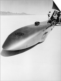Goldenrod' Land Speed Record Car, Bonneville Salt Flats, Utah, USA, C1965 Posters