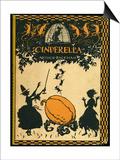 Cinderella Prints by Arthur Rackham