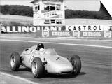 Dan Gurney Driving a Porsche, French Grand Prix, Rheims, 1961 Posters