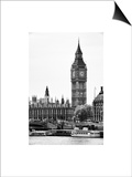 The Houses of Parliament and Big Ben - Hungerford Bridge and River Thames - City of London - UK Prints by Philippe Hugonnard