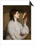 Miss Auras: the Red Book Posters by Sir John Lavery