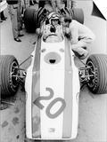 John Surtees in Honda V12, Belgian Grand Prix, 1968 Prints