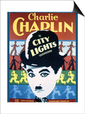 City Lights - Movie Poster Reproduction Posters