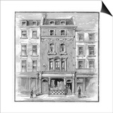 Lord Byron's Birthplace, Holles Street, Cavendish Square, London, 1888 Prints
