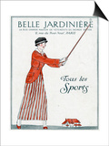 Lady Golfer 1914 Prints by Bernard Boutet De Monvel