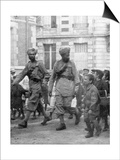 Soldiers from the British Indian Army, France, C1915 Plakát