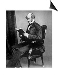 John Stuart Mill, British Philosopher and Social Reformer, 19th Century Prints
