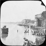 Bathing Ghat at Benares, India, Late 19th or Early 20th Century Prints