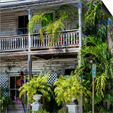 Key West Architecture - Heritage Structures in Old Town Key West - Florida Prints by Philippe Hugonnard