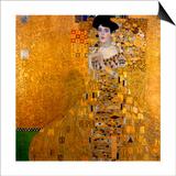 Adele Bloch-Bauer I, 1907 Art by Gustav Klimt