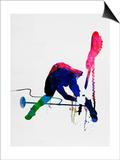 Joe Watercolor Posters par Lora Feldman