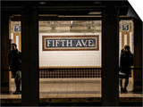 Moment of Life in NYC Subway Station to the Fifth Avenue - Manhattan - New York Prints by Philippe Hugonnard