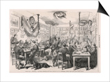 Heidelberg University Students 1870 Print