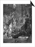 Arminius Defeats Romans Print by Alphonse Mucha