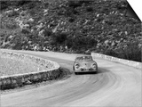 Porsche 356 Taking a Corner in the Monte Carlo Rally, 1954 Prints