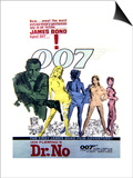 Dr. No - Movie Poster Reproduction Posters