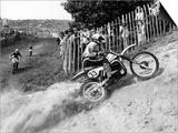 Motocross Scrambling Posters