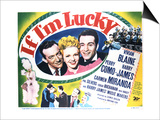 If I'm Lucky - Lobby Card Reproduction Prints