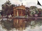 Borghese Villa Gardens Posters by Alberto Pisa