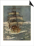 In Roaring Forties Prints by Kenneth D Shoesmith