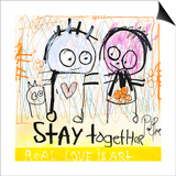 Stay Together Posters by Poul Pava